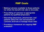 rmp goals