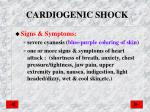 cardiogenic shock1