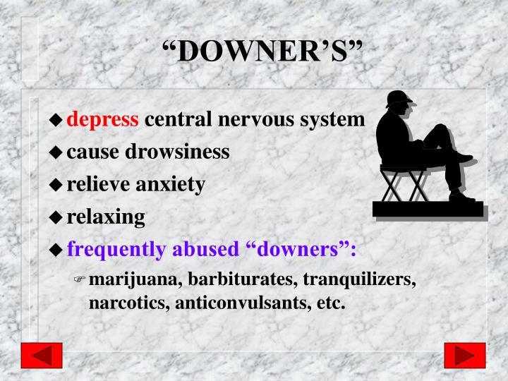 """DOWNER'S"""