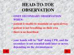 head to toe observation1