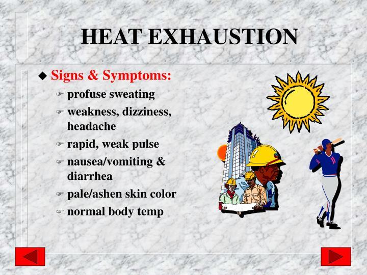 HEAT EXHAUSTION