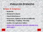 inhaled poisons1