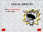 legal aspects1