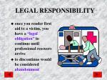 legal responsibility1