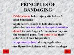 principles of bandaging
