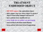 treatment embedded object