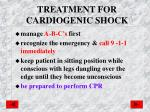 treatment for cardiogenic shock