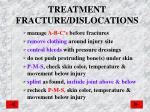 treatment fracture dislocations