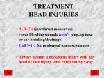 treatment head injuries