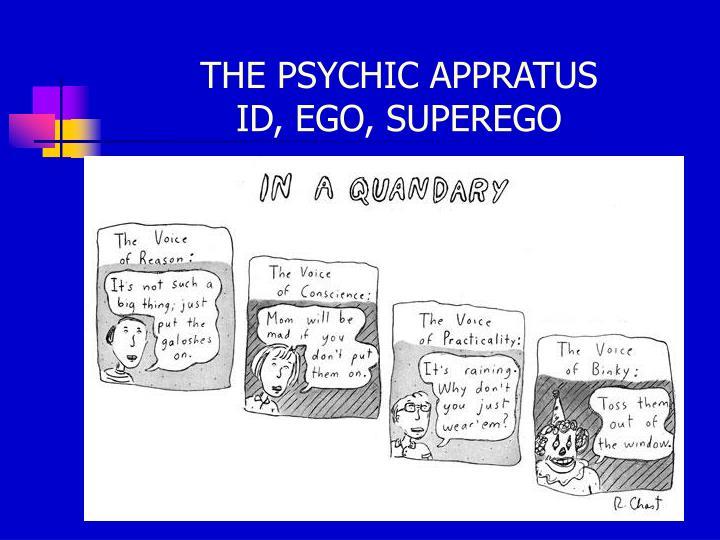 THE PSYCHIC APPRATUS