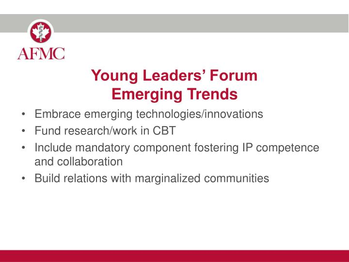 Young Leaders' Forum