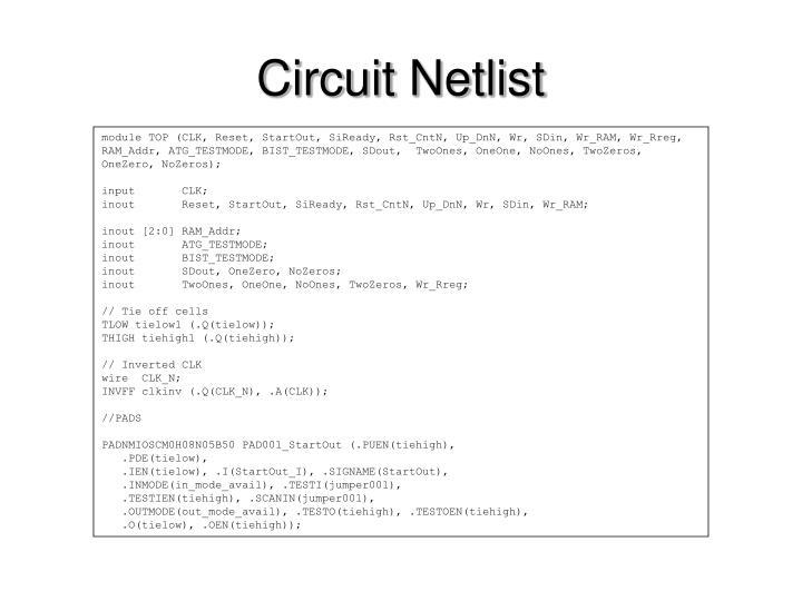Circuit Netlist