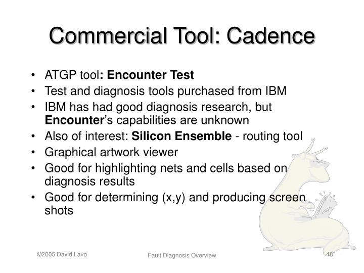 Commercial Tool: Cadence