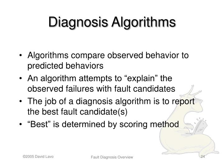 Diagnosis Algorithms