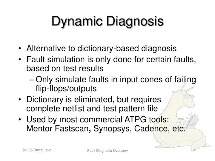 Dynamic Diagnosis