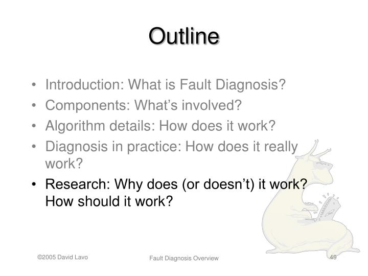 Introduction: What is Fault Diagnosis?