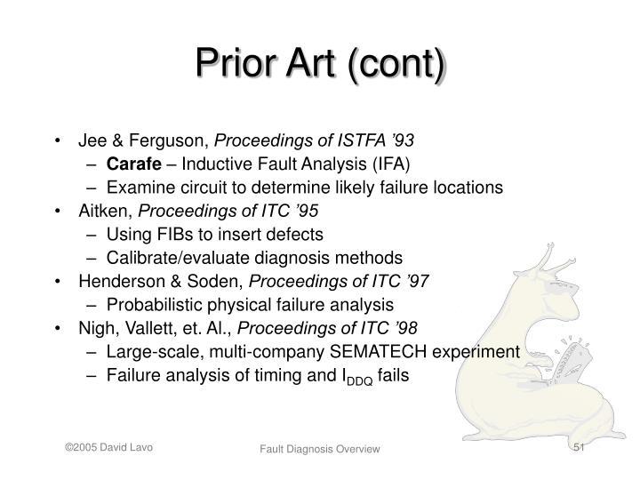 Prior Art (cont)