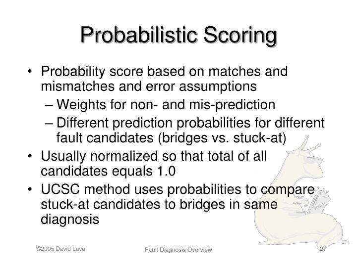 Probabilistic Scoring