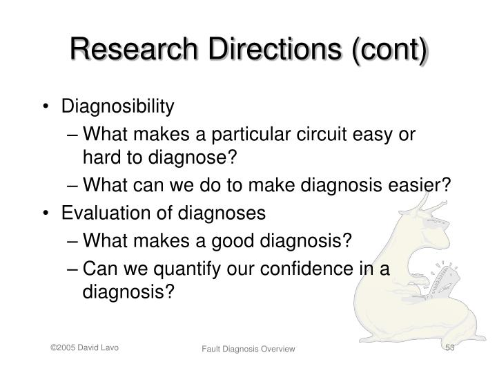 Research Directions (cont)