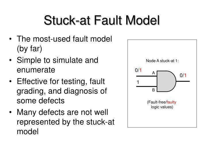 Stuck-at Fault Model