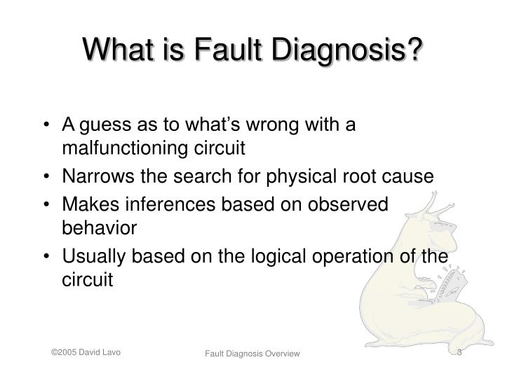 What is Fault Diagnosis?