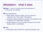 attestation what it does