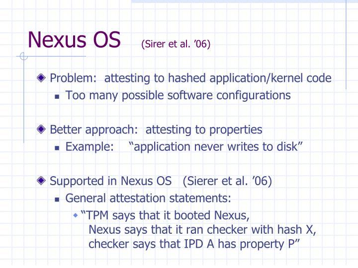 Nexus OS