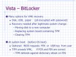 vista bitlocker