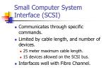 small computer system interface scsi