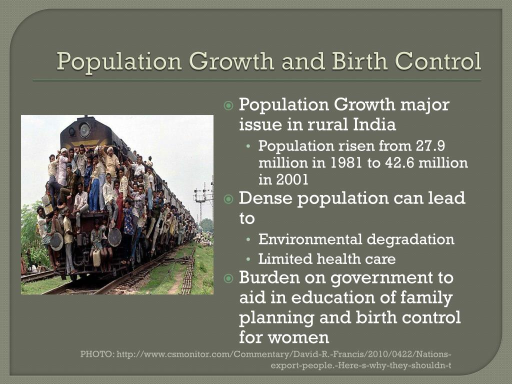 Population Growth and Birth Control