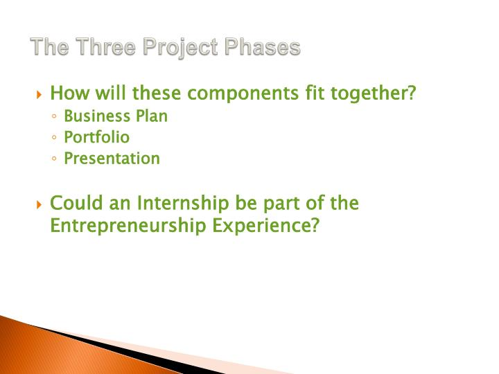 The Three Project Phases