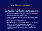 4b measurements