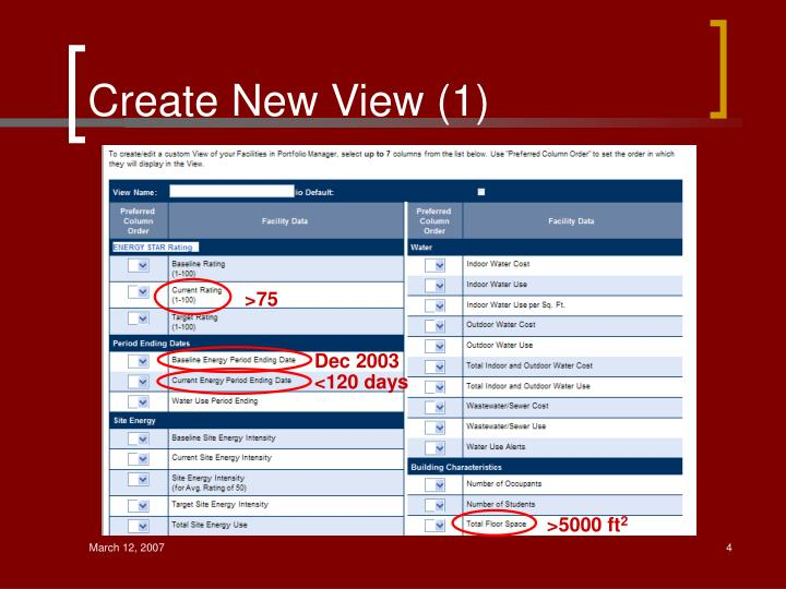 Create New View (1)