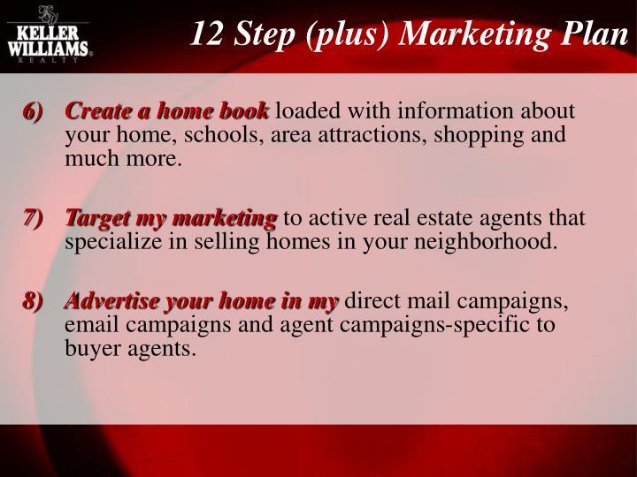 12 Step (plus) Marketing Plan
