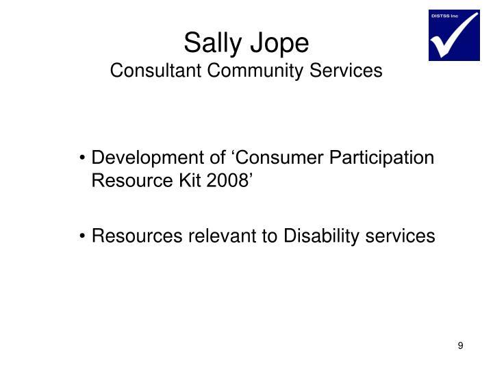 Sally Jope