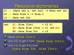 recursive dictionaries1