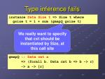 type inference fails1