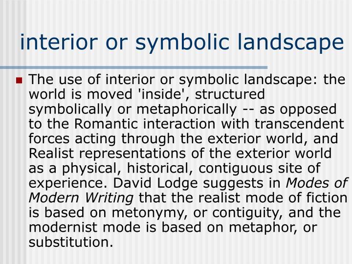 interior or symbolic landscape