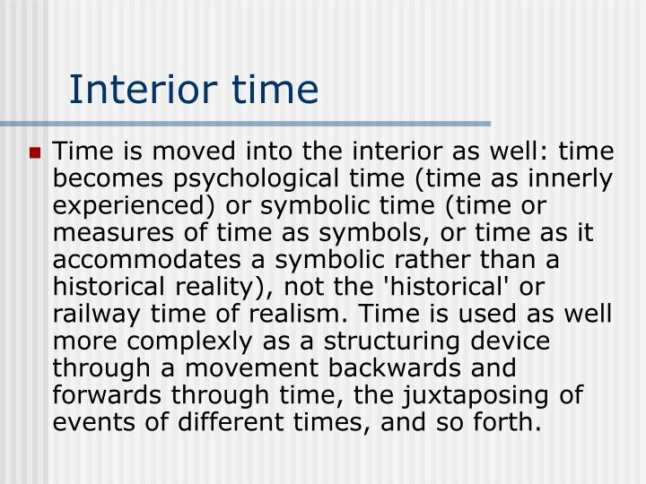 Interior time