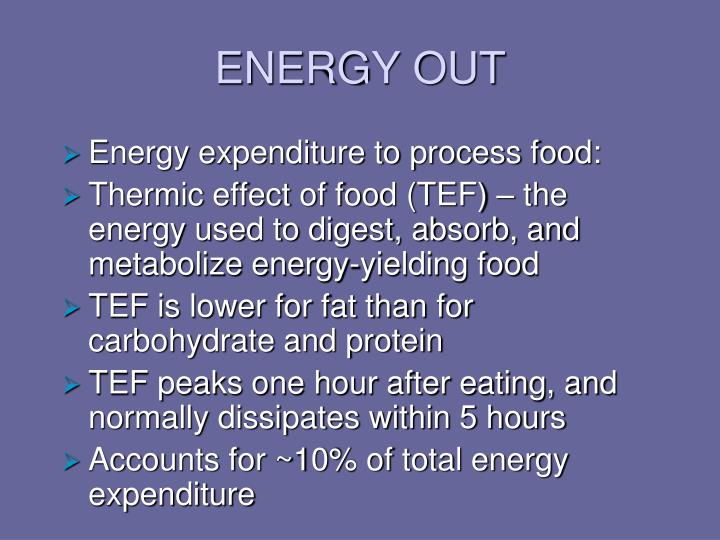 ENERGY OUT