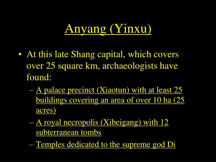Anyang (Yinxu)