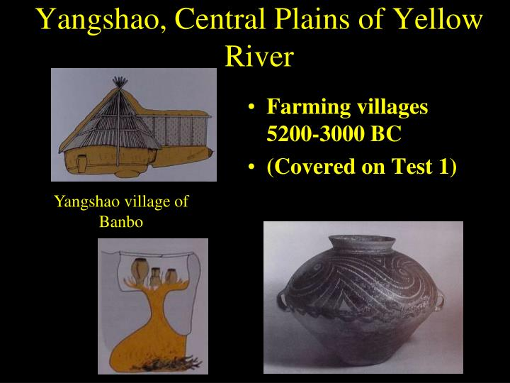 Yangshao, Central Plains of Yellow River
