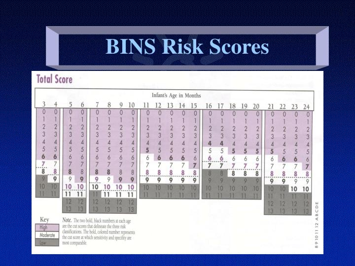BINS Risk Scores