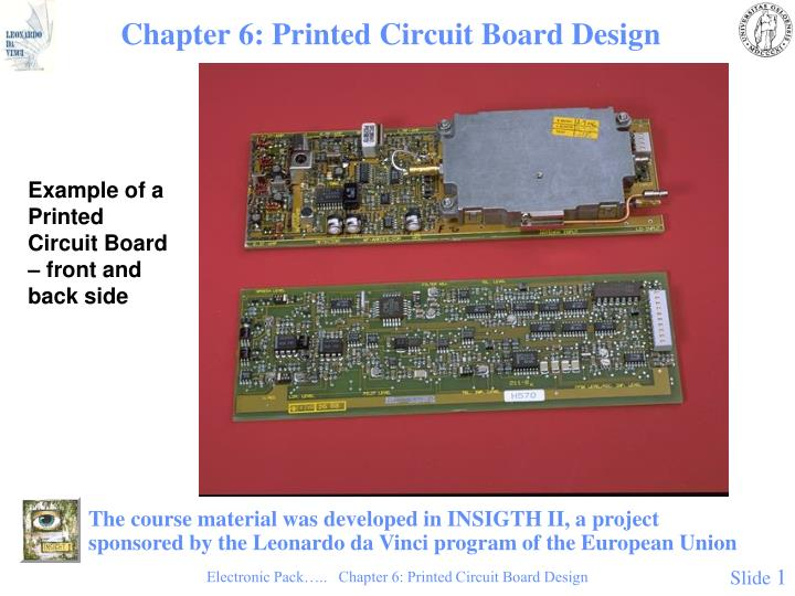Chapter 6 printed circuit board design