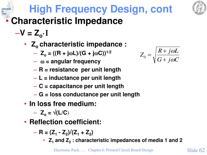 High Frequency Design, cont