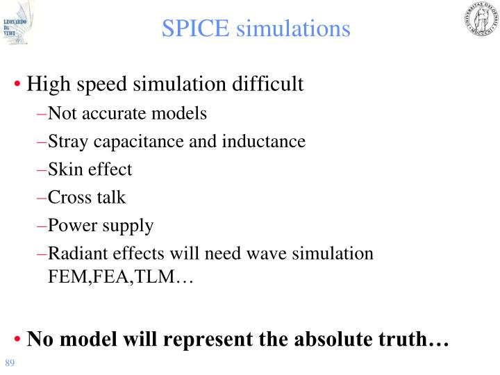SPICE simulations