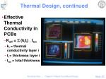 thermal design continued4