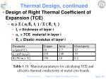 thermal design continued5