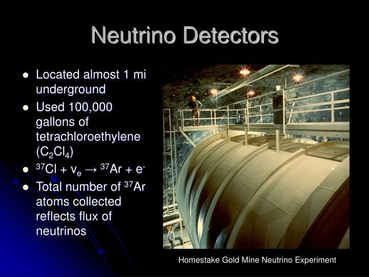 Neutrino Detectors