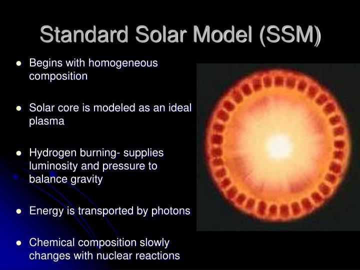 Standard Solar Model (SSM)